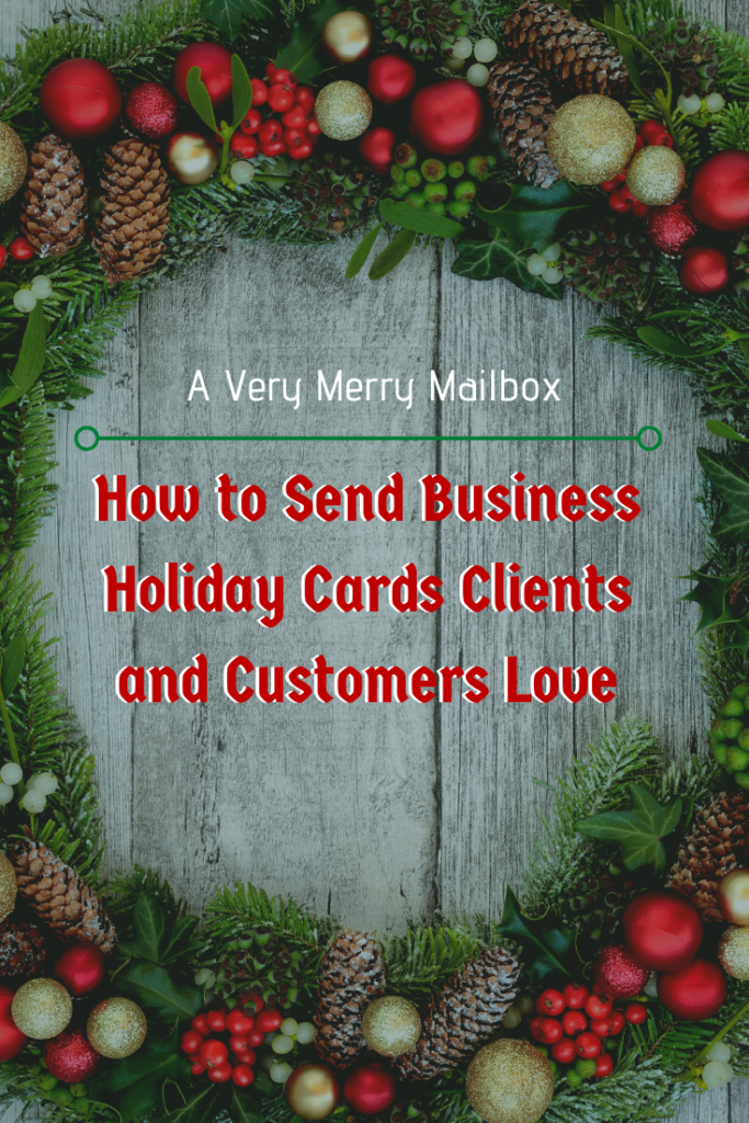 holiday cards for clients