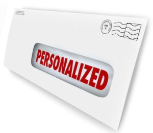 personalized direct mail marketing