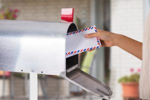 value of personal mail