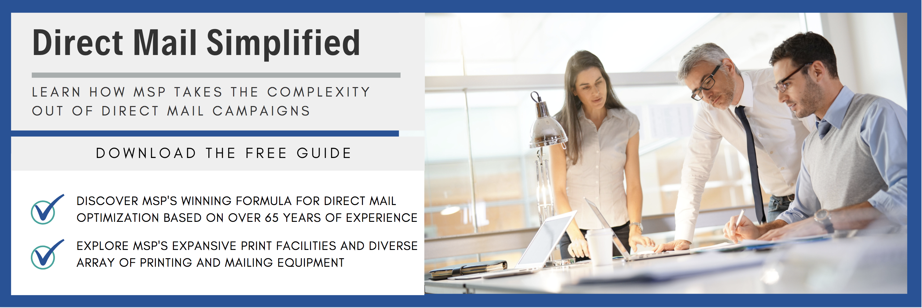 simplify your direct mail